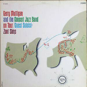 Zoot Sims - Gerry Mulligan And The Concert Jazz Band On Tour (Vinyl)