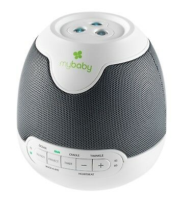 Mybaby Soundspa Lullaby Nursery Projector Night Light | New! | Free P&p