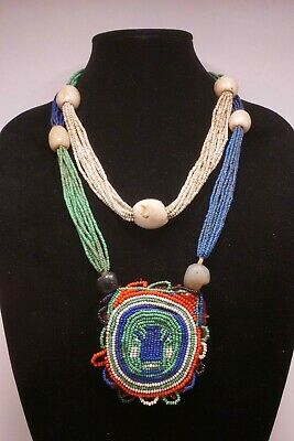 Old Yoruba Ifa Priest's Diviner's Necklace