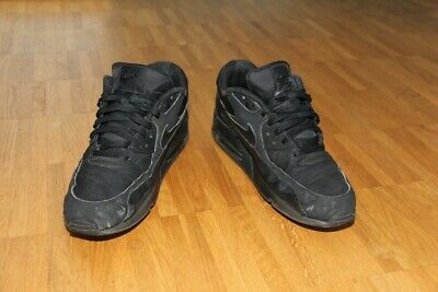 new styles 45127 34680 Nike Air Max 90 black Synthetic Gr. US 13  EUR 47,5 getragen