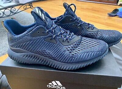 reputable site 82c55 34b92 Adidas Mens (Sz US11) Alphabounce ams M Running Shoes Navy Excellent  Condition
