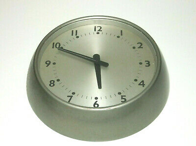 "Vintage 10"" Wall Clock Mid Century Smiths Design Stainless Steel Parts Spares"