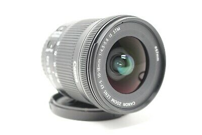 Canon EF-S 10-18mm F/4.5-5.6 IS STM Lens Fast Shipping USA