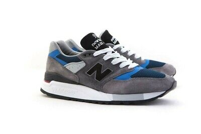 M998NF New Balance Men 998 M998NF - Made In USA gray blue