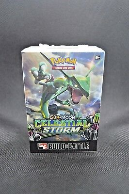 Pokemon Sun & Moon CELESTIAL STORM Prerelease Booster Build & Battle Kit box