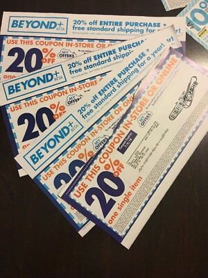 20 Bed Bath And Beyond coupons $10 off $30 & 20% Off Variety