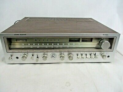 Vintage ZENITH MODEL MC 7050 STEREO RECEIVER - Works great!