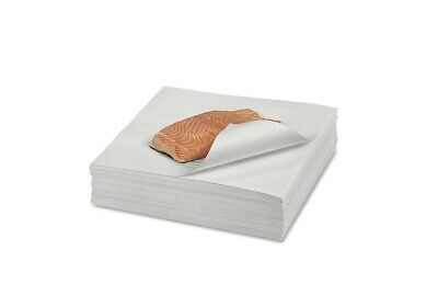 """12"""" x 12"""" Butcher Paper White Disposable Wrapping or Smoking Meat - 100 Sheets"""