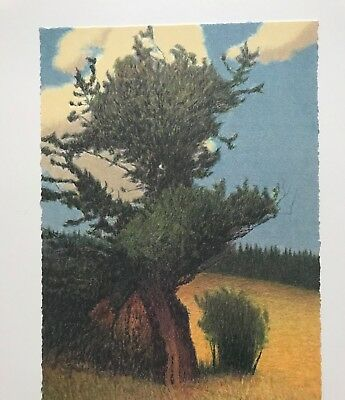 Russell Chatham Original lithograph, Bristlecone Pine, signed/dated/numbered