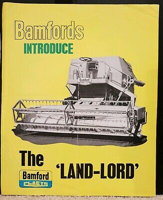 Bamfords Claeys Land Lord Combine Brochure