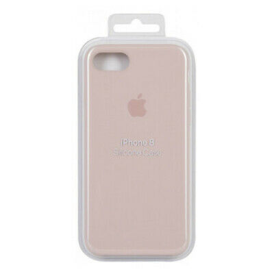 info for a36cf 0774f NEW OPEN OEM Apple Silicone Pink Sand Case For iPhone 8 & iPhone 7 -  MQGQ2ZM/A