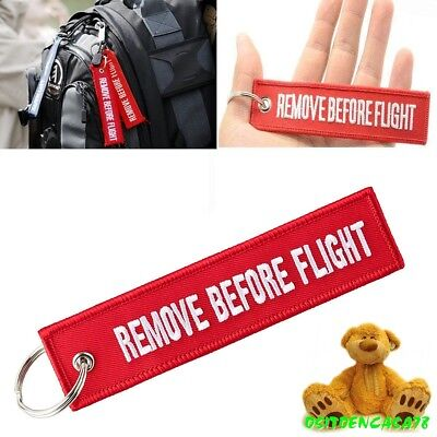 Llavero Remove Before Flight Para Maletas Llaves Viaje Avion