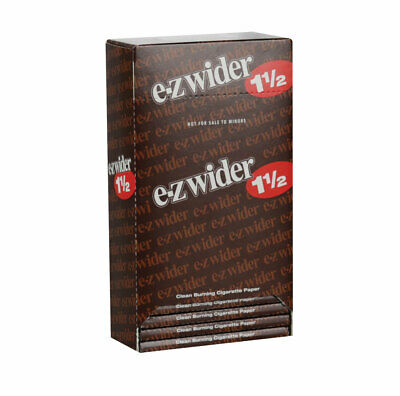 """24pc Display - EZ Wider Rolling Papers - 1 1/2"""""""