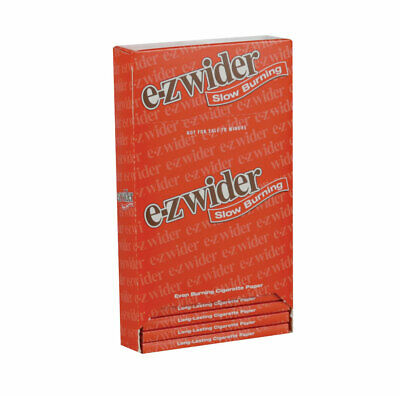 """24pc Display -  EZ Wider Slow Burning Rolling Papers - 1 1/2"""""""