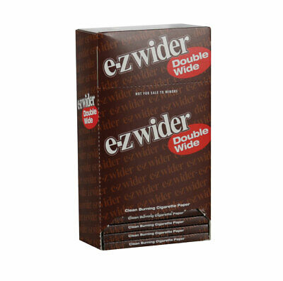 """24pc Display -  EZ Wider Double Wide Rolling Papers - 3"""""""
