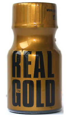Poppers REAL GOLD 10ml - Aphrodisiaque Sexe Stimulant Homme Femme