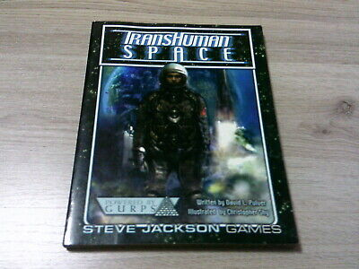 GURPS 3rd Edition Transhuman Space Campaign Setting SC Steve Jackson Games 2002