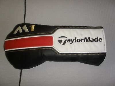 TaylorMade M1 black/white/red Driver Head Cover used
