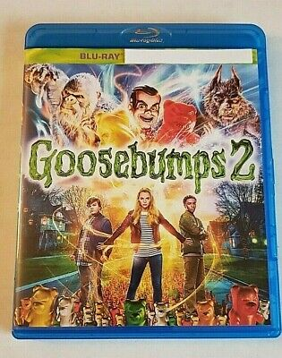 Goosebumps 2 NEW Bluray disc/case/cover only-no digital Haunted Halloween 2018