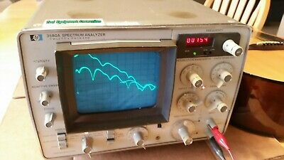 Hewlett packard 3580A Spectrum Analyzer