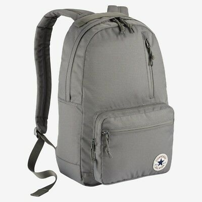 b37600382a6 Converse All Star Chuck Taylor Poly Go Backpack 10004800-A04 Charcoal New