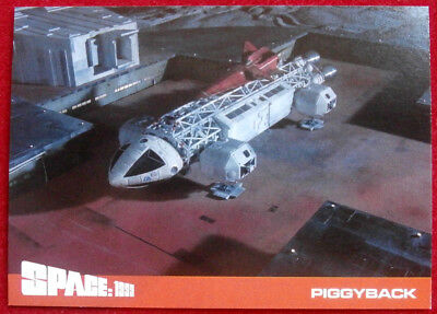 SPACE 1999 - SERIES TWO - Card #36 - PIGGYBACK - Unstoppable Cards Ltd 2018