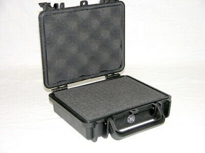 Black Armourcase 1060 Protective Plastic case with Pick N pluck foam + nameplate