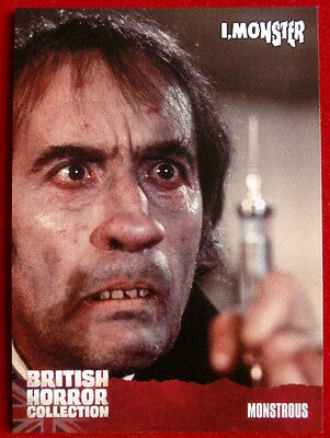 BRITISH HORROR COLLECTION - I, Monster - MONSTROUS - Card #73