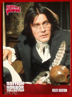 BRITISH HORROR COLLECTION - Lust for a Vampire - GILES BARTON - Card #68