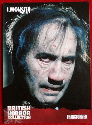 BRITISH HORROR COLLECTION - I, Monster - TRANSFORMED - Card #80