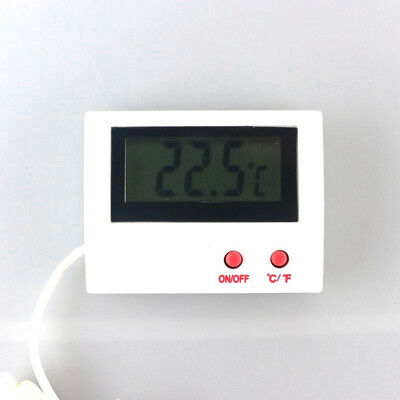 Mini Digital LCD Thermometer Temperature Meter Indoor Probe Sensor Cable Healthy
