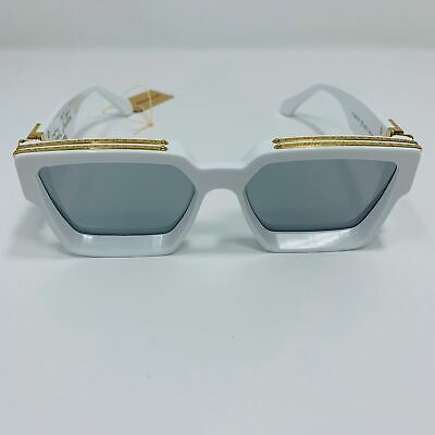 742a636753b Louis Vuitton x Virgil Abloh White MILLIONAIRES 1.1 Sunglasses Supreme  limited