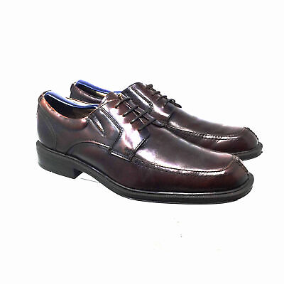 955ac538133 FLORSHEIM MEN S RALLY Moc Ox leather Brown Shoes 11725-200 Size 9 D ...