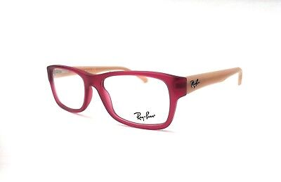9b68c0155bb New RAY BAN Frames Rubber Red AUTHENTIC RX Eyeglasses RB 5268 5553 50-17-