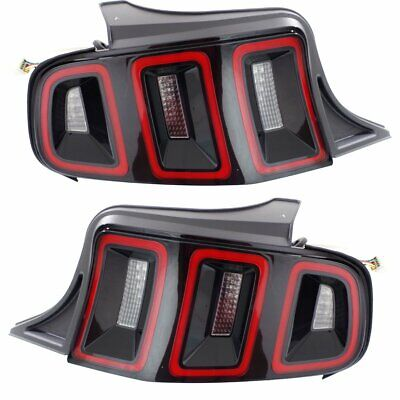Pair Tail Lights Lamps Set of 2 New Right-and-Left LH & RH FO2801233, FO2800233