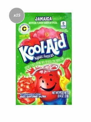 911014 15 x 3.9g PACKETS KOOL AID KOOL-AID UNSWEETENED DRINK MIX JAMAICA FLAVOUR