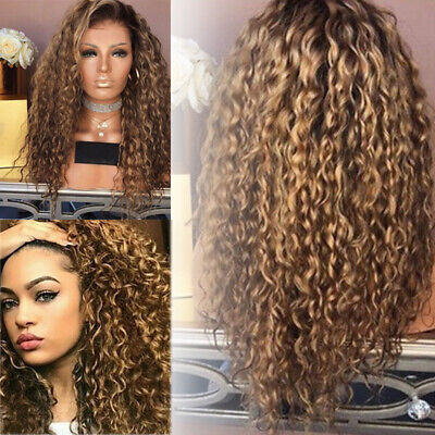 Perruques Afro Kinky Curly Ondulés Cosplay Synthétique Hairpleine Longue Frisée