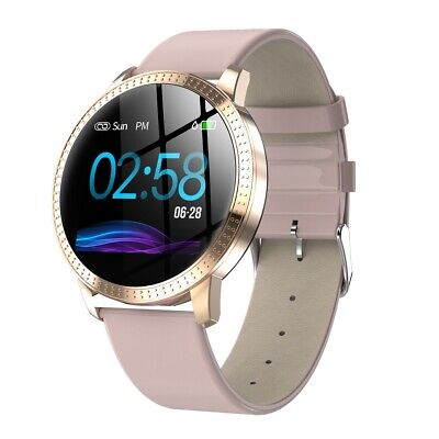 Bluetooth Smart Watch Fitness Tracker Heart Rate Blood Pressure For Android iOS
