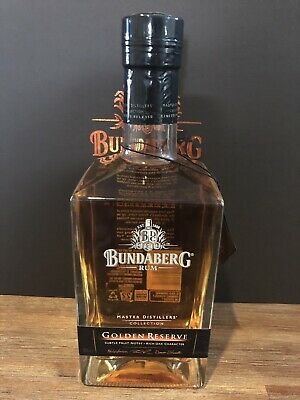 Bundaberg Rum. MDC Golden Reserve. With neck tag. Released 2012.