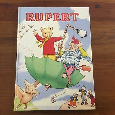 Rupert The Daily Express Annual - Vintage 1988 Ed Hardcover - Vgc