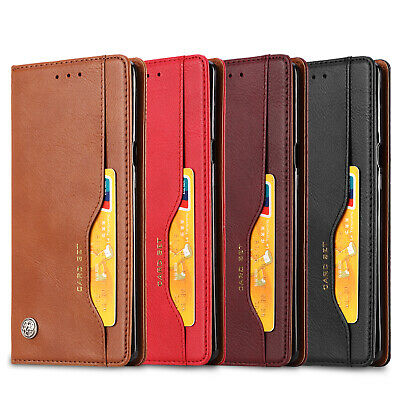For Samsung J2 Pro 2018 Case J8 J6 Wallet Leather Stand Flip Card Holders Cover