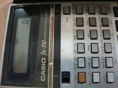 calculadora casio fx 350