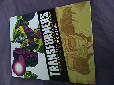 Transformers Definitive G1 Collection - issue 9 vol 10 Trial by Fire