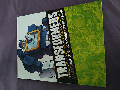 Transformers Definitive Collection - iss 7 vol 8 Galvatron Wanted Dead or Alive