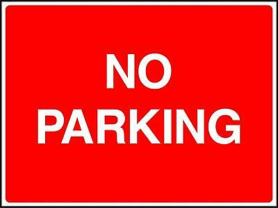 No Parking Road Traffic Sign