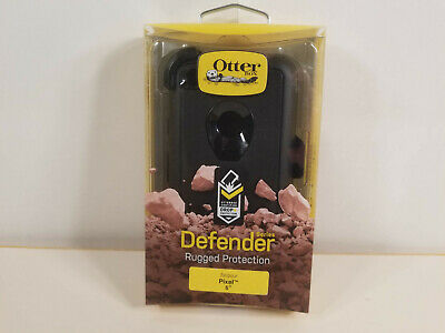 """NEW Rugged Case by Otterbox DEFENDER for 5.0"""" Google Pixel BLACK"""