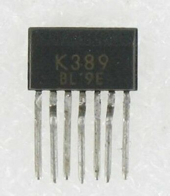2SK389-BL Manufacturer:TOSHIBA Encapsulation:ZIP-7,N CHANNEL JUNCTION TYPE LOW