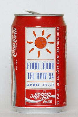 1994 Coca Cola can from Israel, Final Four Tel Aviv 94