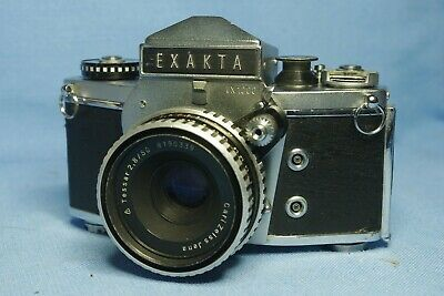 Ihagee Exakta VX1000 with f2.8 50mm Zeiss Tessar lens