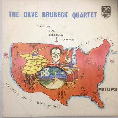 The Dave Brubeck Quartet - History Of A Boy Scout (Vinyl)